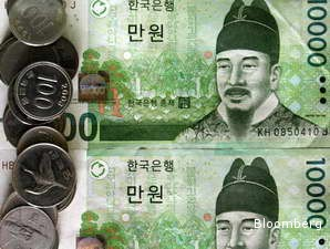JAKARTA. Mayoritas mata uang negara di kawasan Asia menguat terhadap