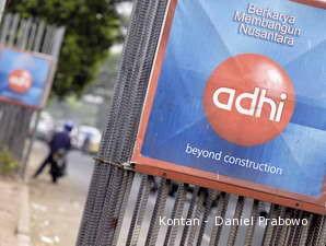 Kejar Target, ADHI Rajin Ikut Tender