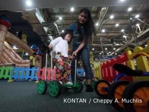 Arena bermain anak yang bikin kantong mengembang