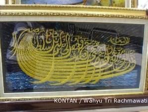 Menganyam berkah dan fulus dari kaligrafi benang baja