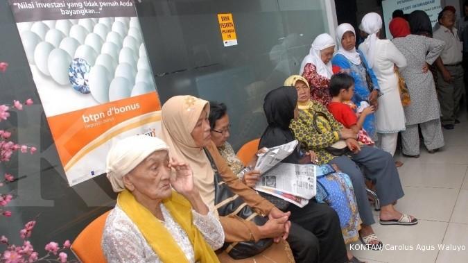 Gaji pensiunan tak naik sejak pemerintahan Jokowi
