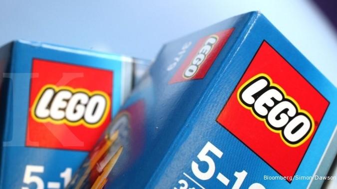 Ada cuan dari melego balok Lego