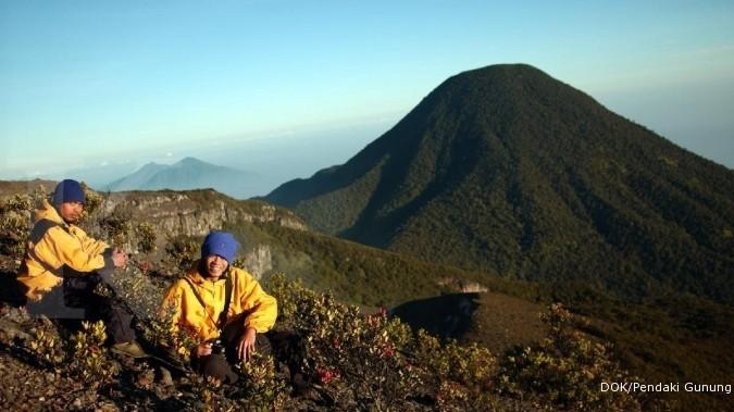 Pendakian Gunung Gede Pangrango ditutup