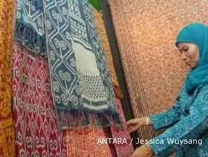 Kain tenun sintang yang asli Kalimantan, banyak dilirik negara tetangga