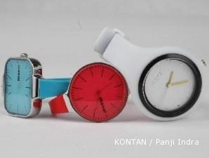 Jam tangan Monol, si bulat imut warna-warni yang trendi