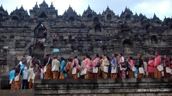 Tiket Candi Borobudur bisa dibeli secara online