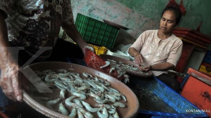 Eksportir udang diuntungkan pelemahan rupiah