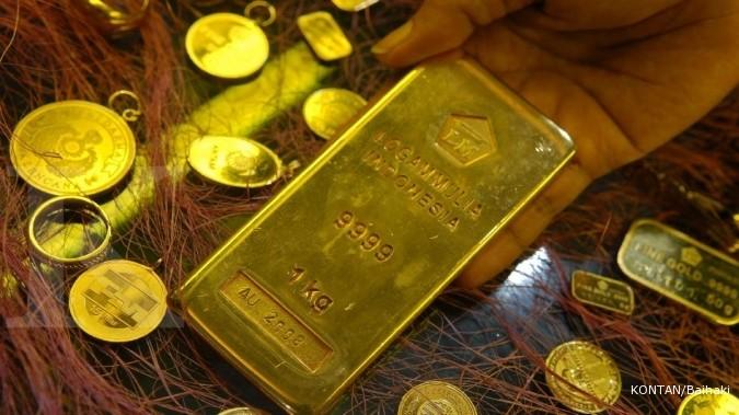 Harga Emas Naik Tertinggi Sejak Januari 2015