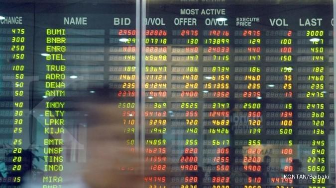 Ini 5 saham yang jadi top gainers dan top losers