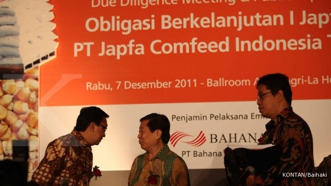 Japfa mencari pinjaman Rp 500 miliar
