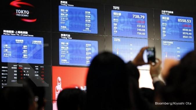 Lonjakan bursa Asia sepekan terbesar dalam 1 bulan