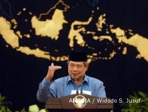 Tak hadir, SBY pilih teleconference di Pekan Nasional Tani-Nelayan