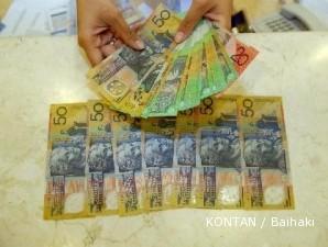 Dollar Australia makin perkasa terhadap dollar AS dan euro
