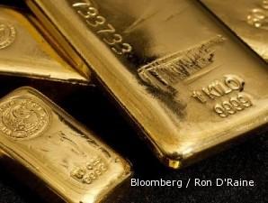 Harga emas kembali sentuh rekor tertinggi di New York kemarin malam