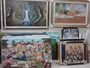 Sentra lukisan Jelekong: Sentra lukisan terbesar di Bandung (1)
