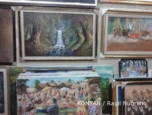 Sentra lukisan Jelekong: Semua bermula dari inisiatif pelukis otodidak (2)