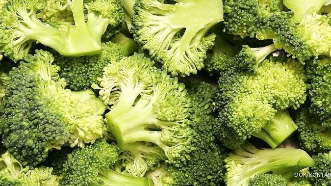 Brokoli adalah salah satu makanan penambah darah.