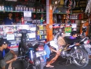 Menggeber fulus usaha bengkel sepeda motor