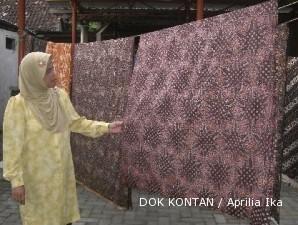 Pasar batik klasik giriloyo tak pernah loyo