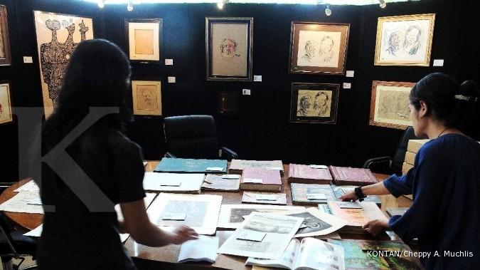 Sidharta Auctioneer akan lelang lukisan Affandi