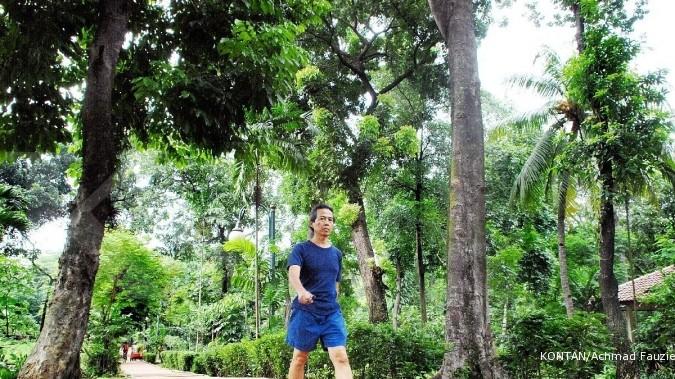 Tak perlu ke Bogor piknik ke hutan, Jakarta saja