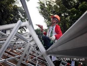 Rangka atap baja ringan: Ringan produknya, berat profitnya