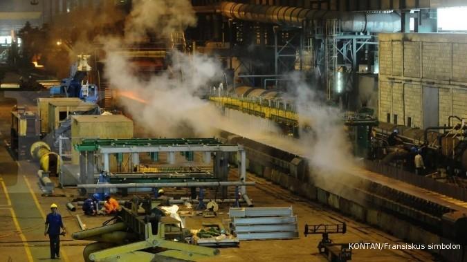 KRAS Krakatau Steel (KRAS) bidik laba di tahun ini