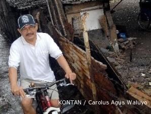 Hasan Bisri: Bersepeda ke daerah kumuh