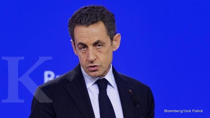 Sarkozy calonkan diri lagi jadi Presiden Prancis