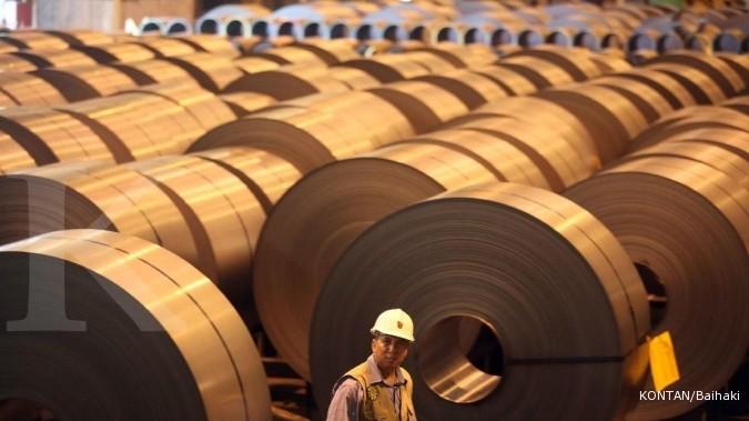 Menperin: Infrastruktur butuh pasokan baja