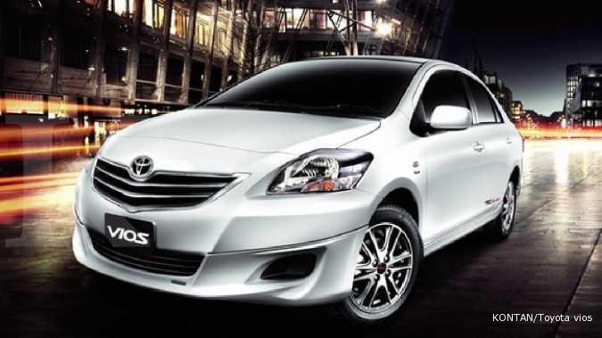 Harga mobil bekas Toyota Vios