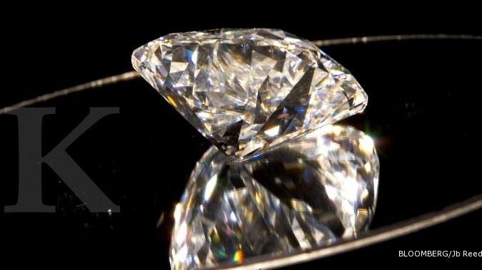 Kilau pasar berlian memang abadi
