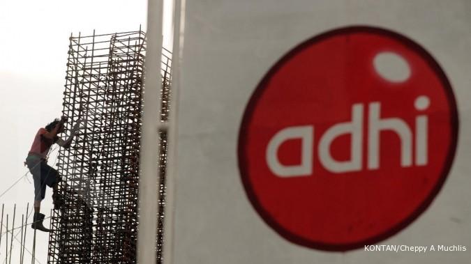 Realisasi kontrak baru Adhi Karya tumbuh 43,4%