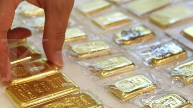 Harga Jual Emas Antam Turun Tipis Di Awal Pekan