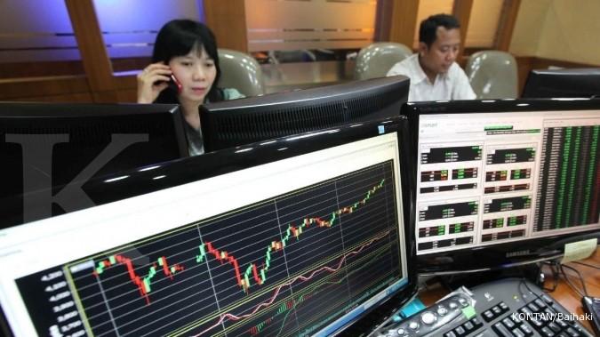 Tiga sektor saham masih tertinggal