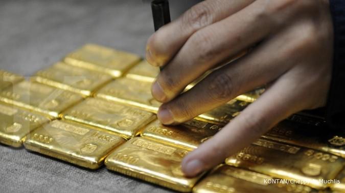 Harga Emas Antam Terendah Sejak Juli 2012