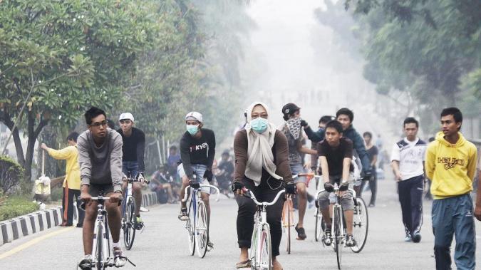 Udara bersih, paru-paru pun terawat