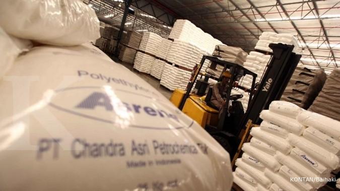 TPIA FPNI Tren harga minyak kerek margin industri petrokimia