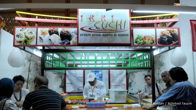 Haik, bisnis sushi masih menjanjikan