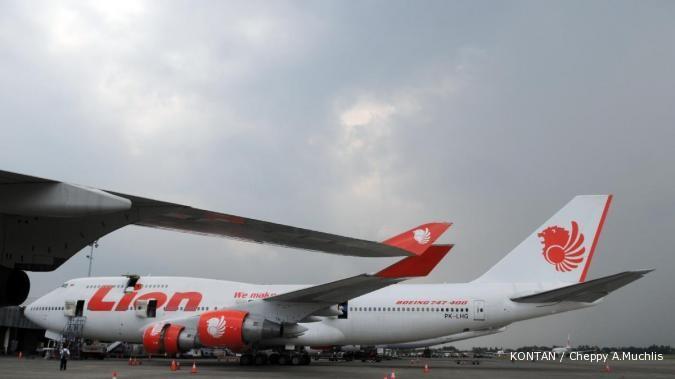Lion Air kuasai 41,59% pasar penumpang domestik
