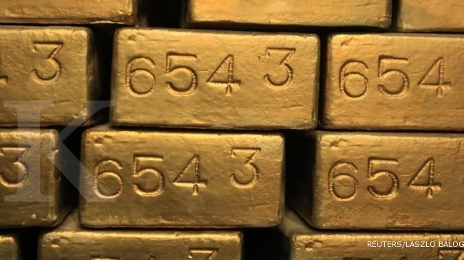 Harga emas di Asia rebound!