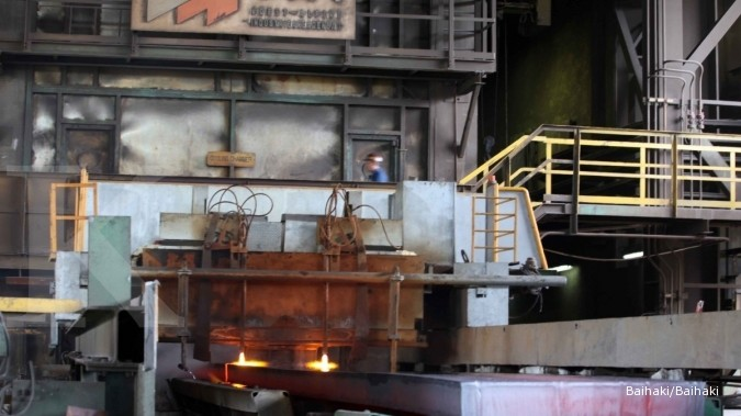 Krakatau Steel initiates blast furnace plant