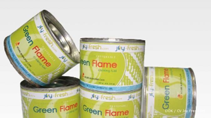 Bahan bakar kompor berbentuk jeli bioetanol