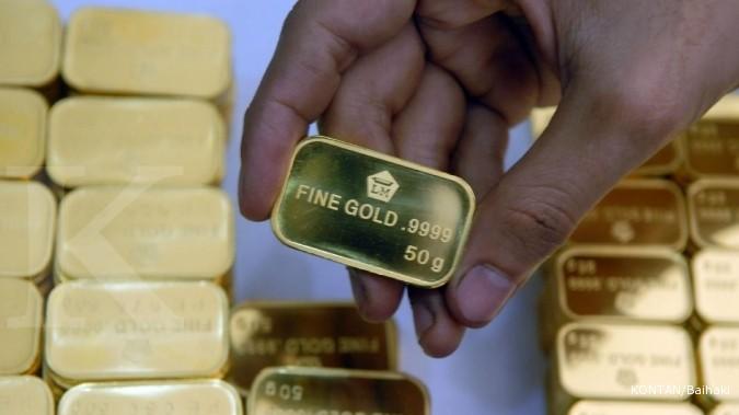 Harga Emas Antam Terjun Kembali Ke Harga Sept 2012