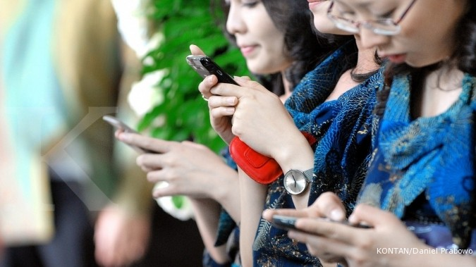 Gangguan BlackBerry terjadi di seluruh Indonesia