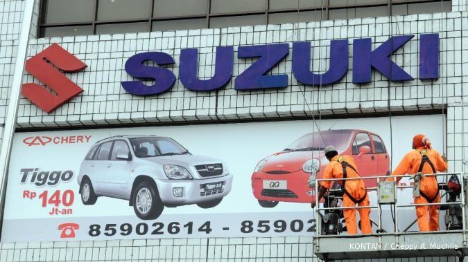 Ribuan pegawai Suzuki mogok kerja