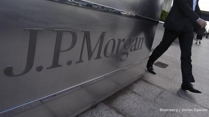 Mengejutkan, JPMorgan tekor US$ 2 miliar