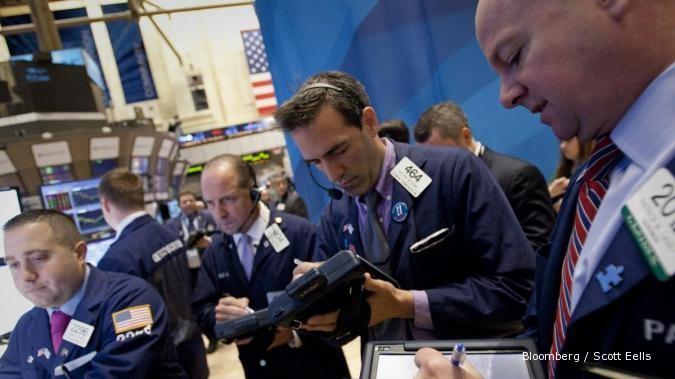 Sinyal positif di Eropa bikin Wall Street rebound