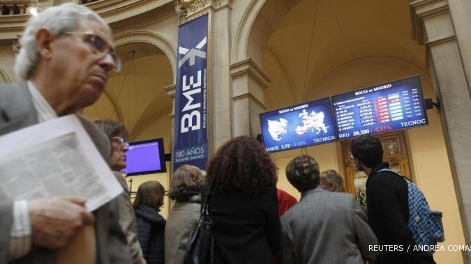 Hasil pooling di Yunani bikin bursa Eropa ceria