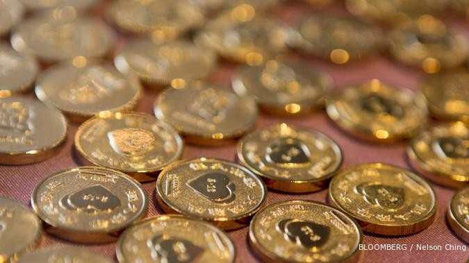 Harga emas terkikis di pasar Asia